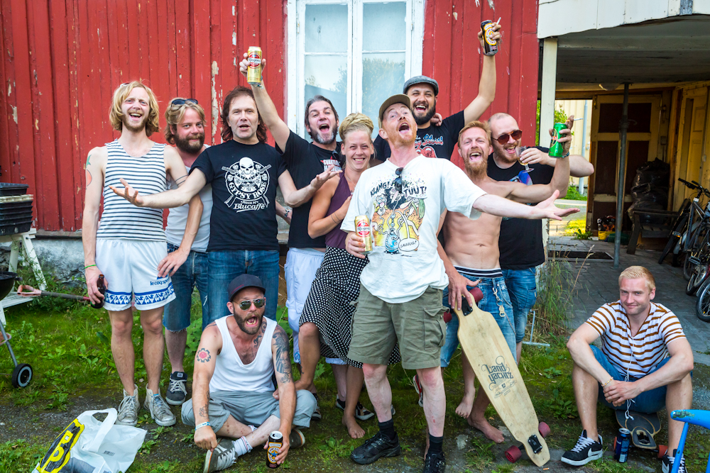 Photo Essay : A Norwegian Summer with Svartlamon Hardkor