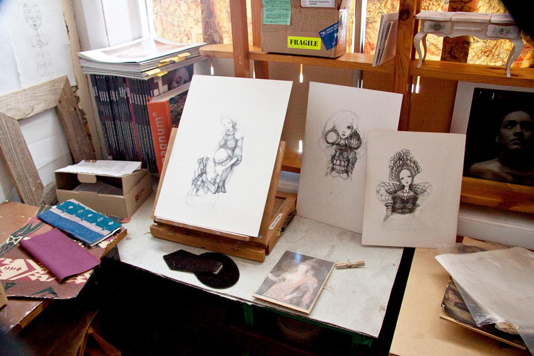 Photo Essay : Little Tengu Art Gallery Preston, Melbourne